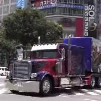トランスフォーマーの宣伝トラック